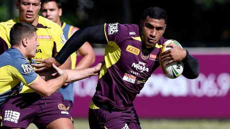 Tevita Pangai Junior pulled out of training. Picture: Getty Images