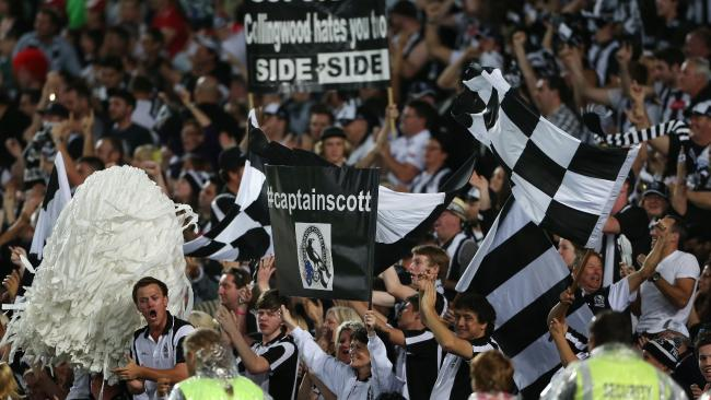 Collingwood fans are back interested in the footy this season.