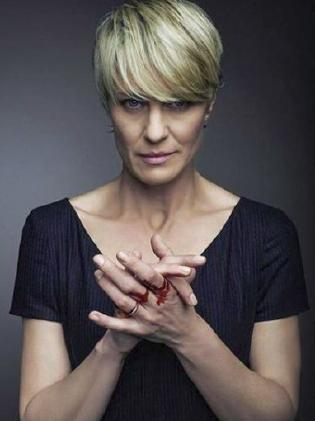 Robin Wright will take centre stage in the final season of House of Cards. Picture: Netflix