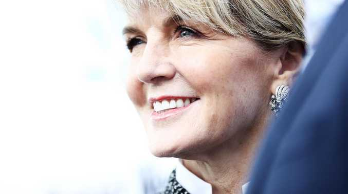 Julie Bishop at the Women of the Future Awards last night. Pic: Ryan Pierse, Getty.