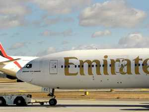 100 sick, Emirates flight struck by illness