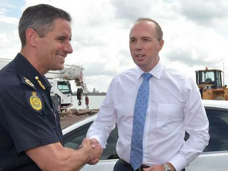 As Commissioner of Border Force, Roman Quaedvlieg was once one of Peter Dutton's most senior allies.