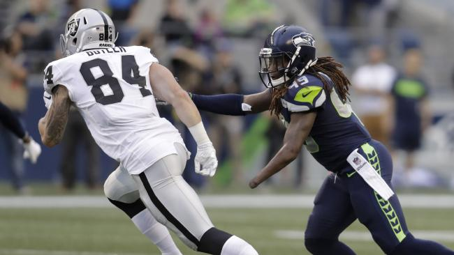 Seattle Seahawks linebacker Shaquem Griffin in action.