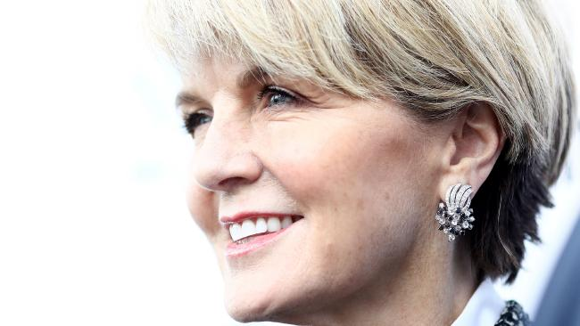 Julie Bishop has hit out at what she believes is unequal treatment of women in Parliament. Picture: Ryan Pierse/Getty