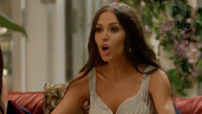 Tenille stormed off set of the mansion in The Bachelor last night after a confrontation with this season's 'mean girls'.