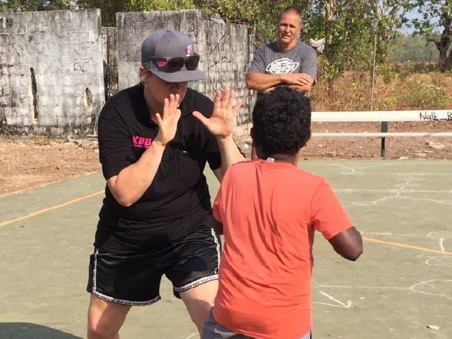 Brettlyn 'Beaver' Neal also works to help children in remote communities.