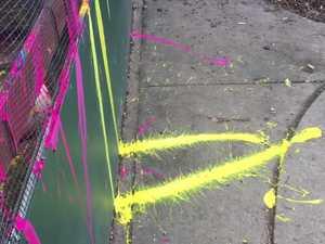 Vandals target childcare centre