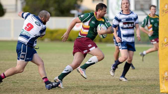 Robbie Chelepy and his Frenchville teammates will take on Dawson Valley in today's rugby union grand final.