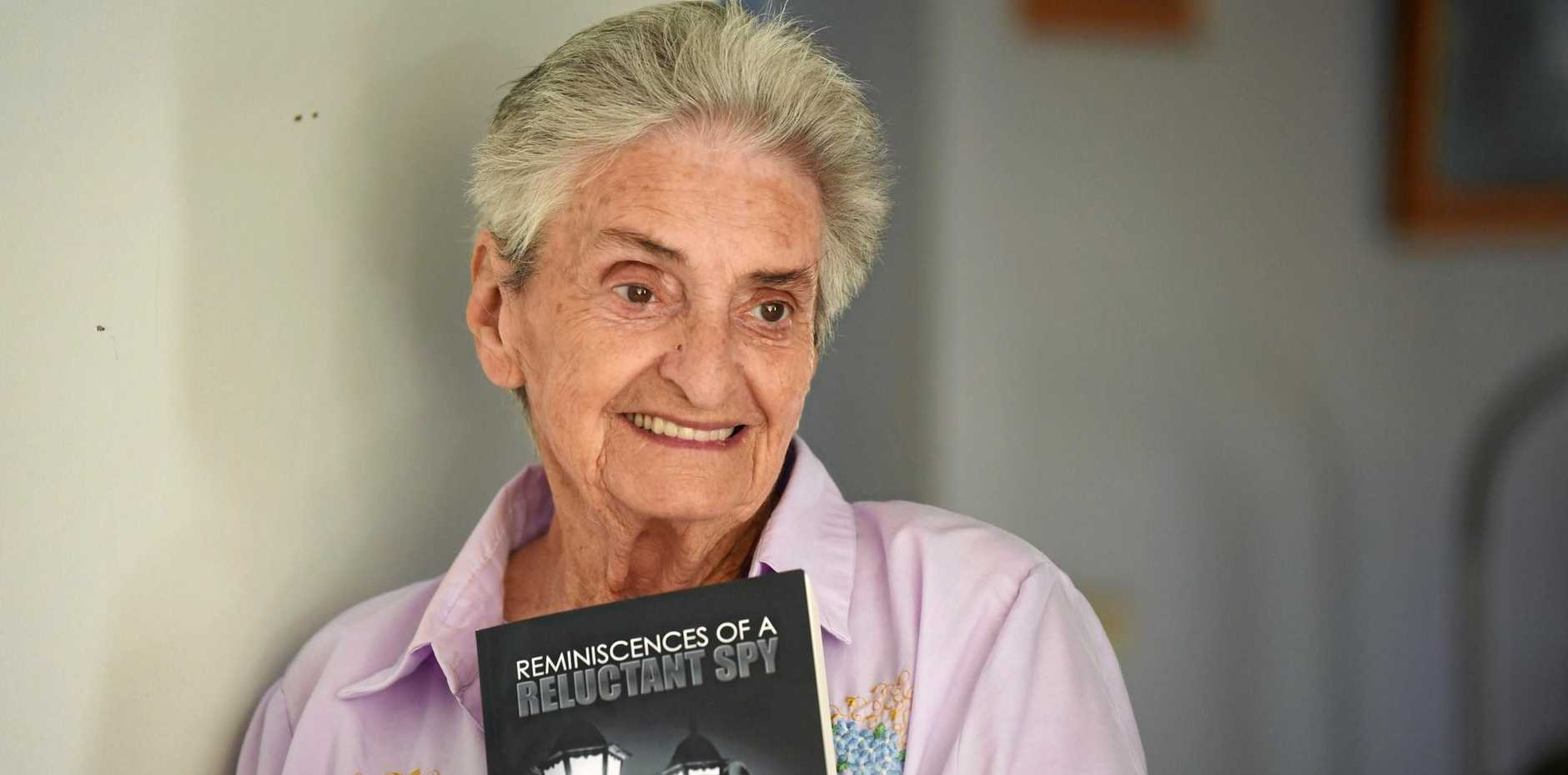 AUTHOR: Roma Ravn, 84, has written a book called  Reminiscences of a Reluctant Spy  about a former Hungarian spy who lived at Cedar Pocket.
