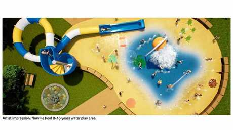 WATER PLAY: THE Christmas school holidays will arrive with a splash in the Bundaberg Region with the council set to start work on a new water play facility within the Norville Pool precinct in coming weeks.