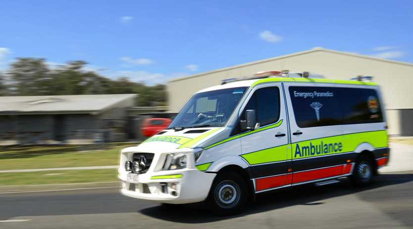 The male child was taken to Mackay Base Hospital with a cut on his head, but he's now been discharged.