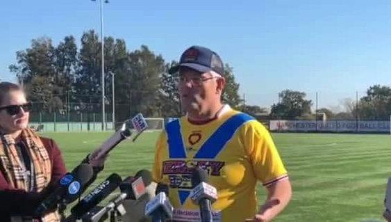 Scott Morrison has donned caps and football jumpers as he works hard to rebrand himself as a PM for the people. Only the polls will tell if the voting public are buying it.