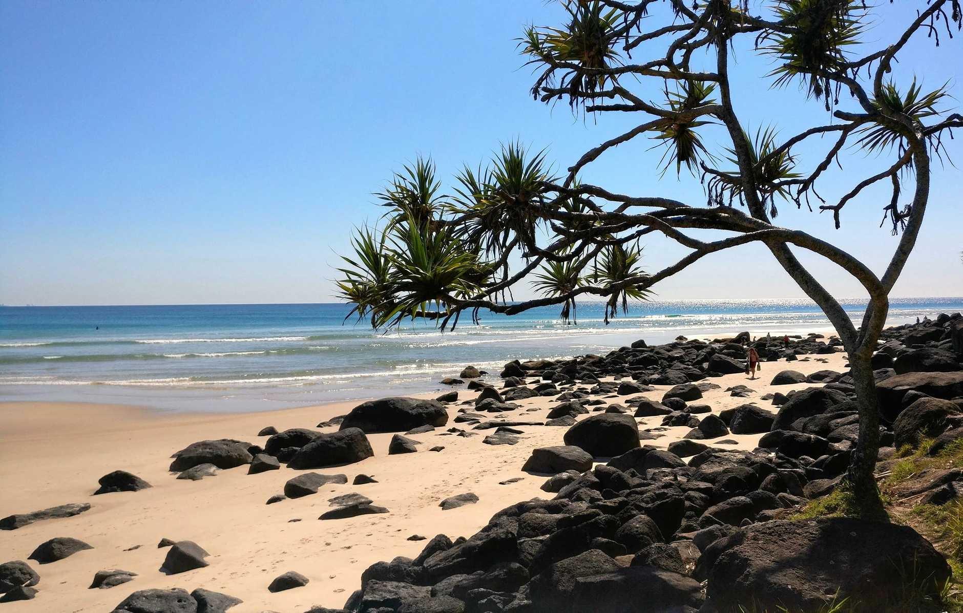 Another spectacular day at Coolangatta Beach.