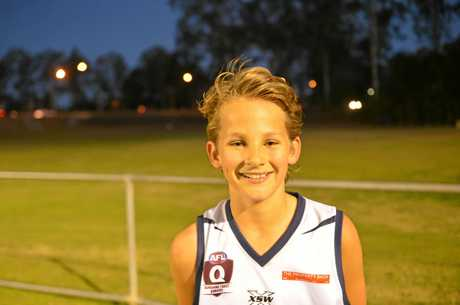 Nathan Kingsley, captain - rover.
