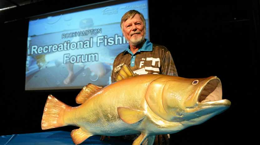HOOKING THEM IN: Bill Sawynok says the introduction of net free zones has allowed fish stocks in the region to flourish.