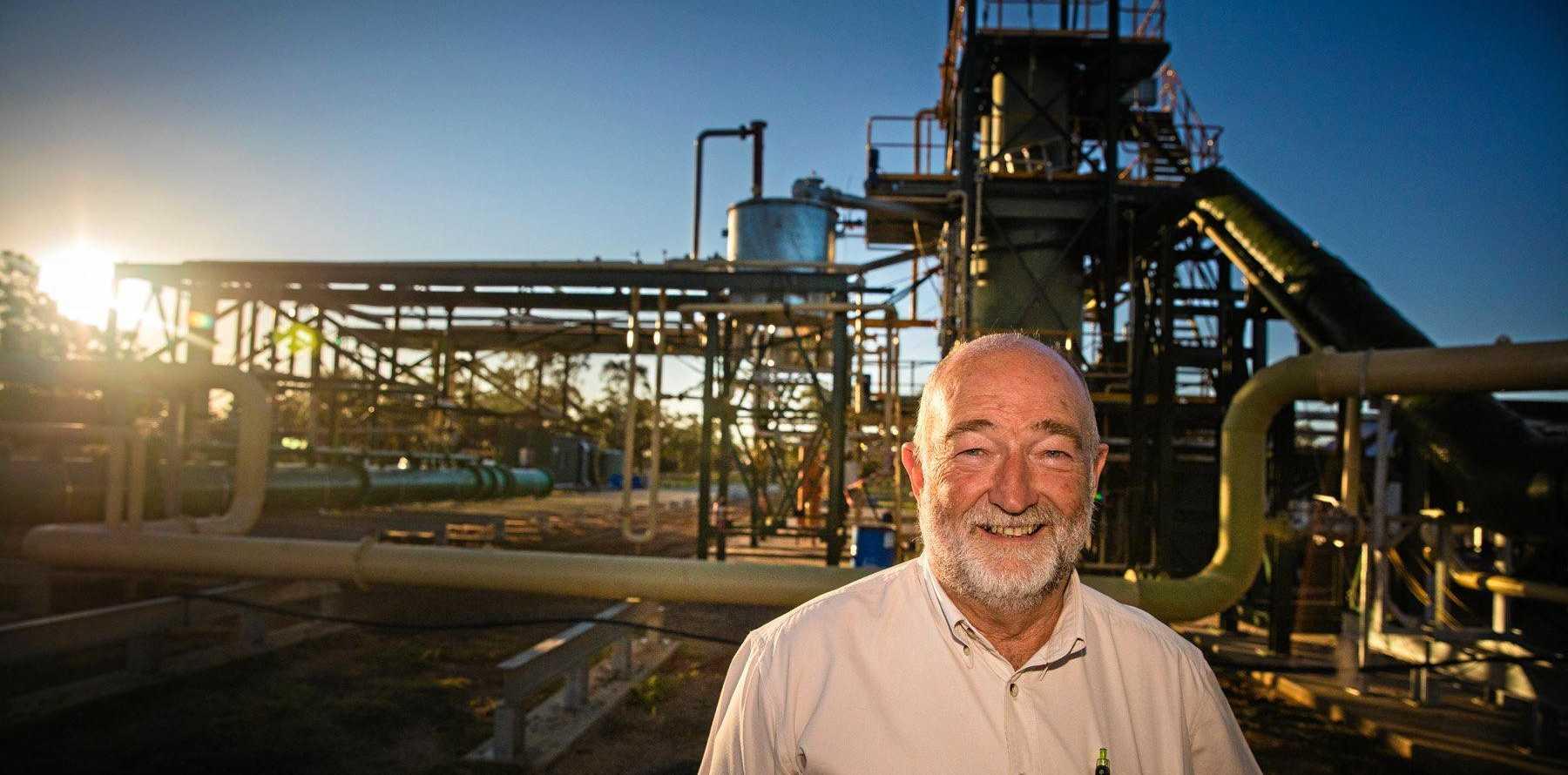 BURNING RUBBER: Green Distillation Technologies COO Trevor Bayley will speak at the event.