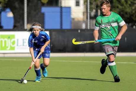 POWER MOVES: NSW Representative Harry Watts has been fighting well above his size in senior hockey this season. But this Saturday, the Sailors star is back in junior action in the Under 16 grand final.