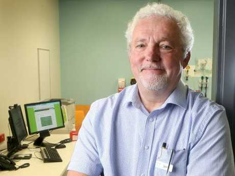 Professor Jerry Wales, Lady Cilento Children's Hospital director of endocrinology. Picture: AAP/Steve Pohlner