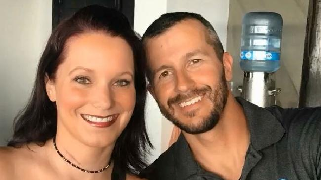 Chris Watts and Shanann Watts. Picture: Facebook