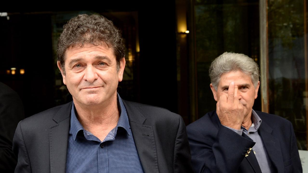 Yellowtails wines owner Marcello Nello Casella and Francesco Polimeni. Picture: Jeremy Piper