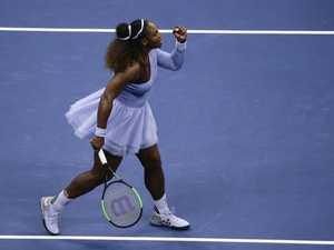 Serena storms into US Open final