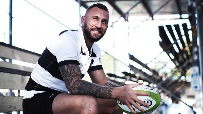 Quade Cooper is reportedly close to a deal with the Rebels. Picture: Phil Hillyard