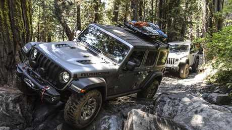 Mean machine: The Wranbgler Rubicon is more than capable off-road.