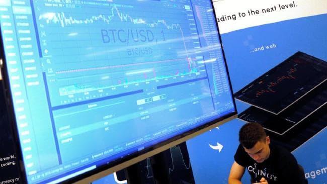 Has the bitcoin bubble burst? Picture: Mike Segar/Reuters