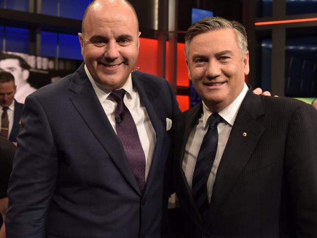 Footy Show hosts tend to have a short life expectancy.