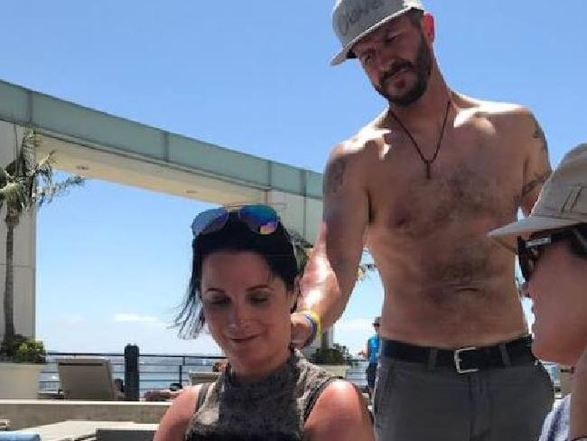 Chris Watts and his wife Shanann. Picture: Facebook