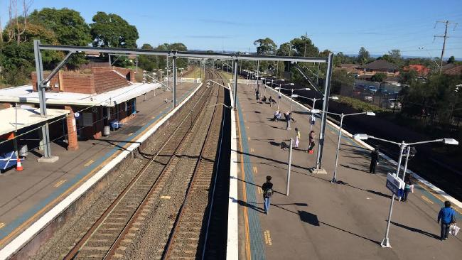 Police claim the altercation occurred at the Graceville Train Station in Brisbane.