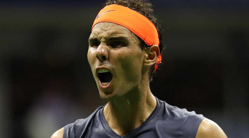 Rafael Nadal has insisted his career is not at risk after retiring hurt in his US Open semi-final. Picture: Julian Finney/Getty