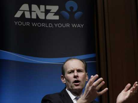 Shayne Elliott, chief executive officer of ANZ, was paid a salary of $5.63 million last year. Picture: Kiyoshi Ota