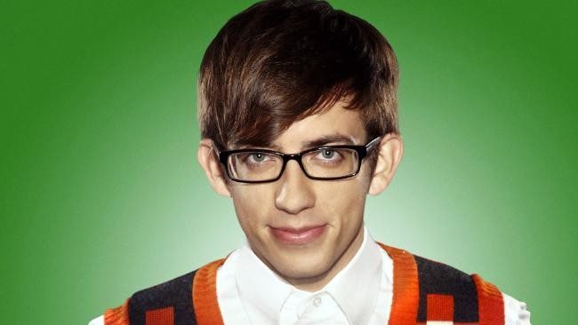 Kevin McHale played Artie in Glee. Picture: Fox Broadcasting