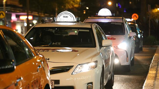 There's a reason so few people want to catch taxis and cabs. (Pic: Marc Robertson)