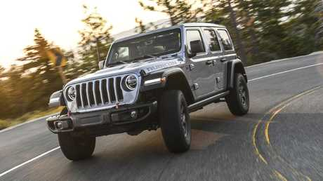 High-rider: The Rubicon rides on 32-inch tyres.