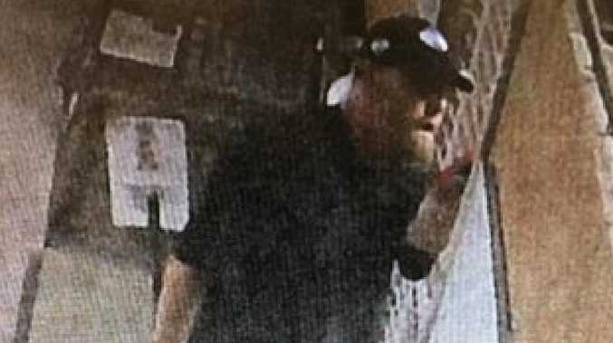 Police have released images of this man in relation to an alleged dog theft on April 8.