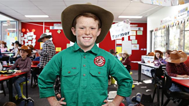 Schoolboy Jack Berne raised $1m through his humble campaign. Picture: Adam Yip