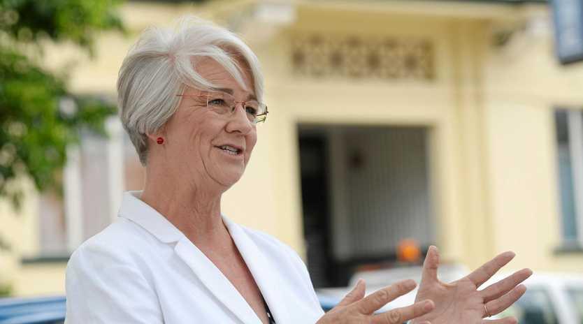 Rockhampton mayor Margaret Strelow has unleashed on opponents of Adani.