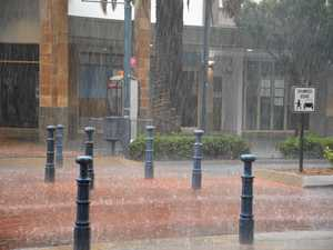 Warwick wakes to loud crackling and rainfall