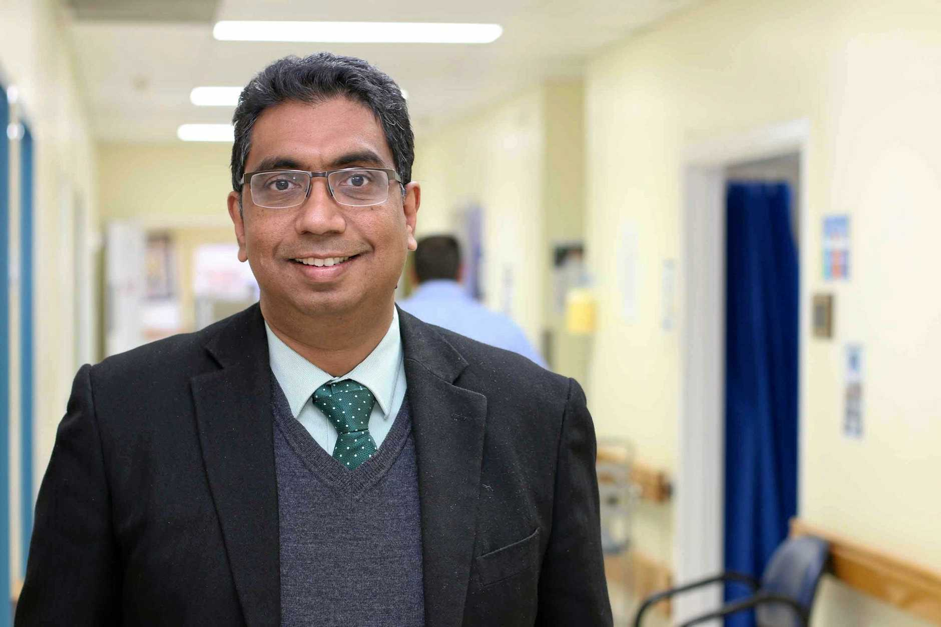 CHECK YOURSELF: Dr Nisal Gange, Director of Toowoomba Hospital's Geriatric, Adult Rehabilitation and Stroke Service said National Stroke Week serves a timely reminder to do all we can to prevent stroke.