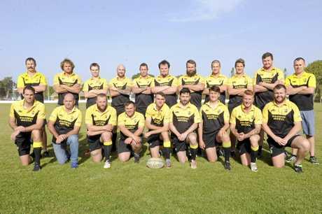 Yamba Buccaneers team photo.