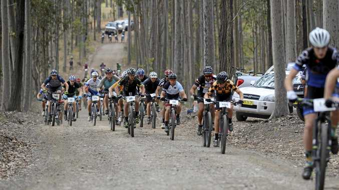 The annual Grafton GBomb returns to the trails at Bom Bom State Forest at South Grafton this weekend.