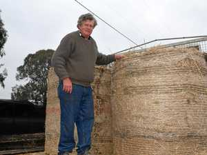 Hay donation helps farmer through another month