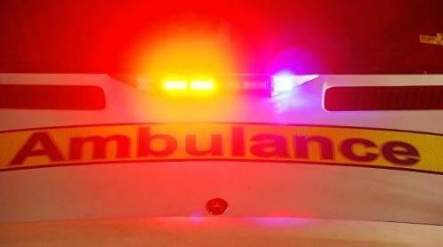 CRASH: Woman saved by passing paramedics