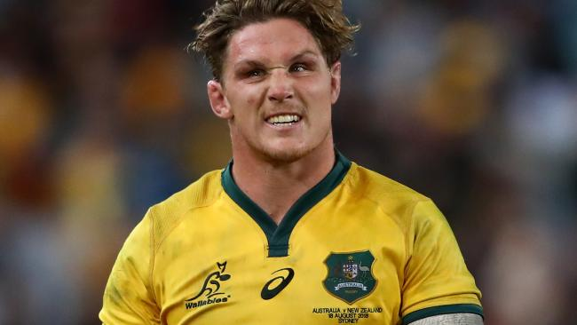 Michael Hooper of the Wallabies