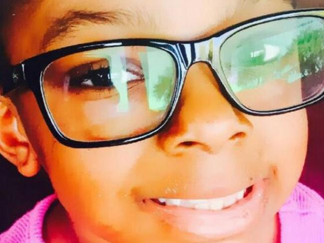 Sanaa Cunningham, seven, died in February 2017, hours after being taken to hospital. The autopsy was inconclusive as to whether she died by accident or was killed. Pic: GoFundMen