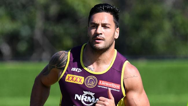 The Broncos' will be without Alex Glenn in their semi-final clash with the Dragons. Picture: Dan Peled/AAP