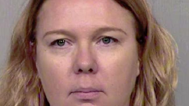Lisa Cunningham is facing capital punishment in the US over the death of her seven-year-old stepdaughter. Picture: Maricopa County Police