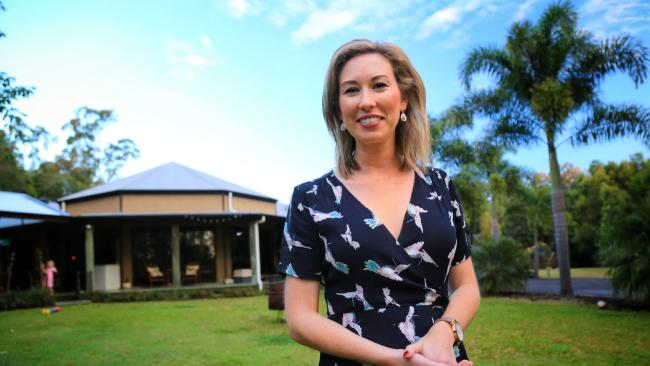 Katie Toney at her current home in Yandina.